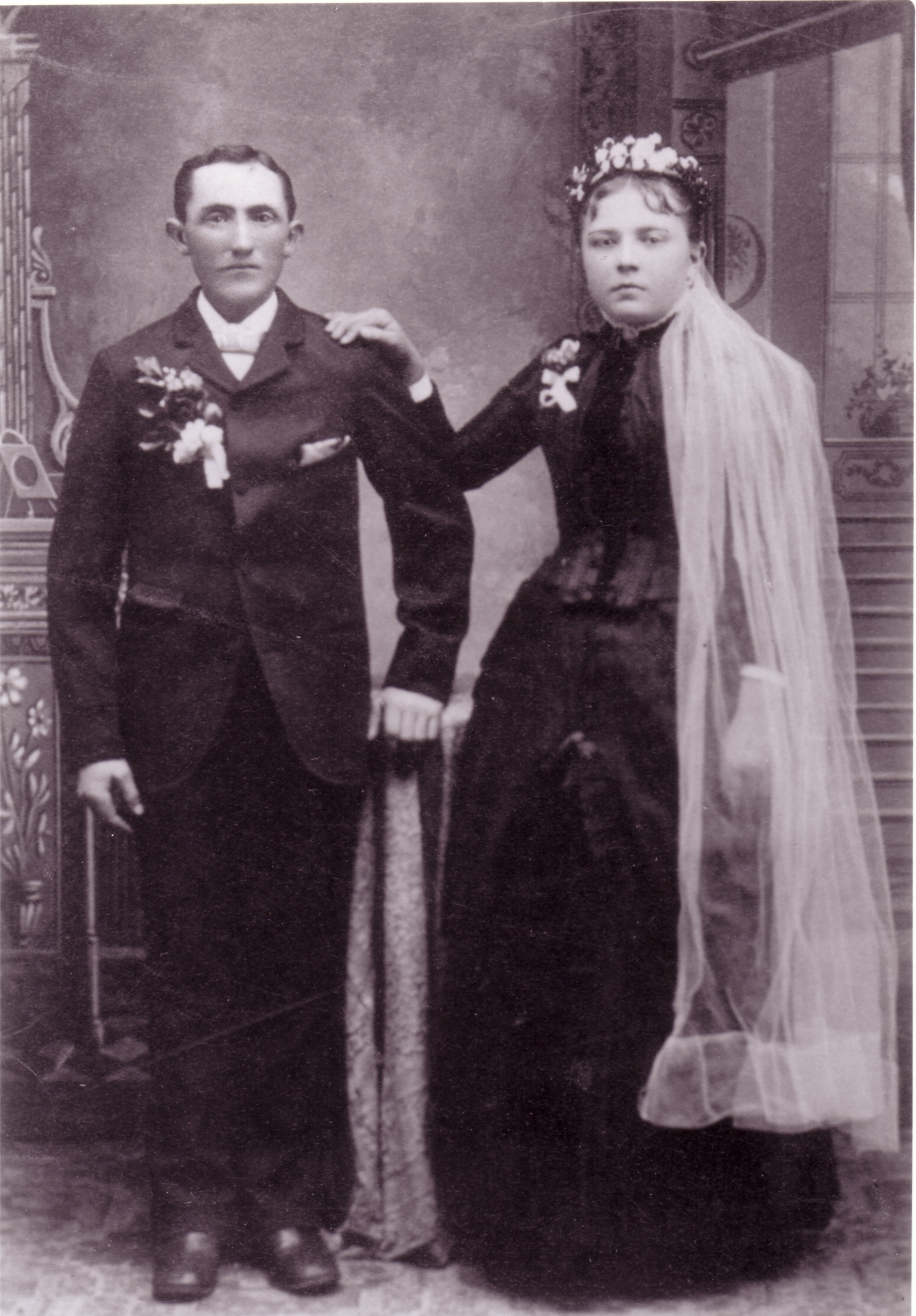 Freidrich Heinrich Eduard Beerman and Margaretha Magdalena Peters Beerman